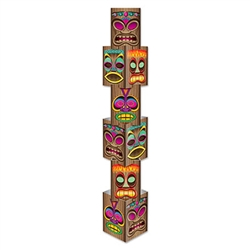 "5' 6"" Tall Tiki Column"