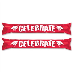 Red and White Graduation Party Sticks