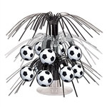 Soccer Ball Mini Cascade Centerpiece
