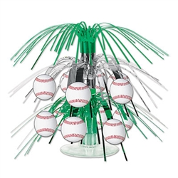 Baseball Mini Cascade Centerpiece