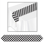 Printed Checkered Table Runner (1/pkg)