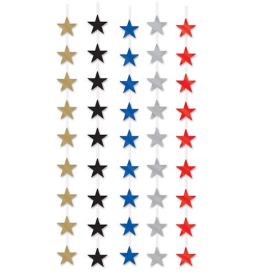Metallic Star Stringer (Please Select Color)