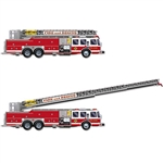 Fire Truck with Jointed Ladder