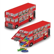 Double Decker Bus Centerpiece (1 Bus Per Package)
