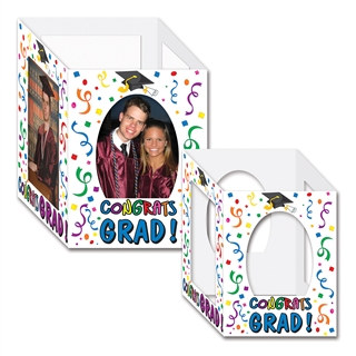 Congrats Grad Photo Centerpieces (2/Pkg)