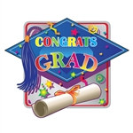 Printed Hi-Gloss Foil Graduation Sign