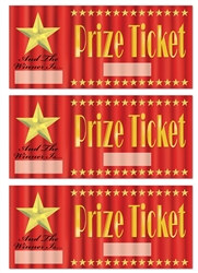 Blank Prize Tickets