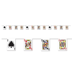 Playing Card Pennant Banner
