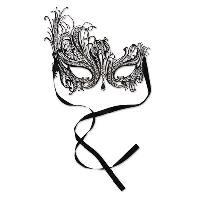 Jeweled Masquerade Mask