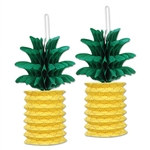 Pineapple Paper Lanterns