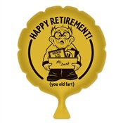 Happy Retirement! Whoopee Cushion
