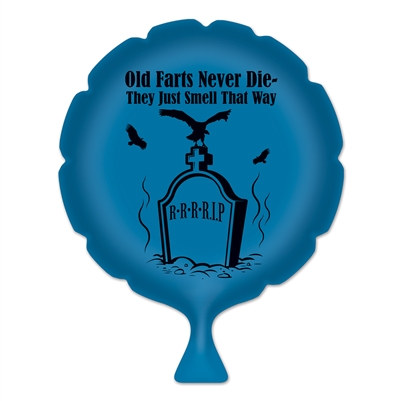 Old Farts Never Die Whoopee Cushion