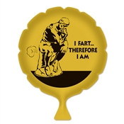 I Fart Therefore I Am Whoopee Cushion