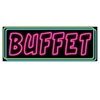 Neon Buffet Sign