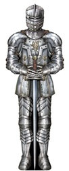 Suit of Armor Cutout