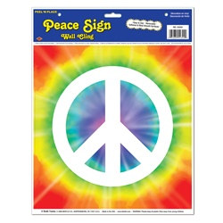 Peace Sign Wall Cling