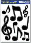 Music Notes Decals