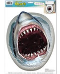 Shark Toilet Topper Peel N Place