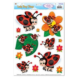 Lady Bug Clings