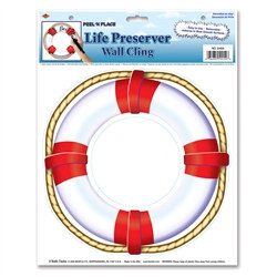 Life Preserver Peel 'N Place (1/Sheet)