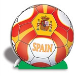 Spain Soccer 3-D Centerpiece