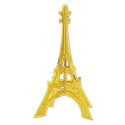 Glittered 3-D Eiffel Tower Centerpiece