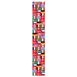 Jointed International Flag Pull-Down Cutout