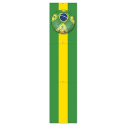 Brasil Soccer Jointed Pull-Down Cutout