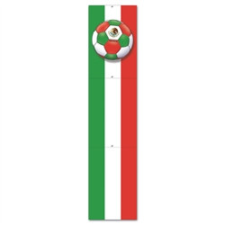 Mexico Soccer Jointed Pull-Down Cutout