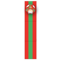 Portugal Soccer Jointed Pull-Down Cutout