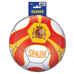 Spain Soccer Cutout
