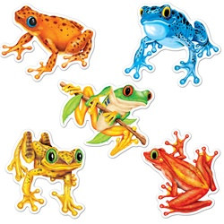 Mini Frog Cutouts (10/pkg)