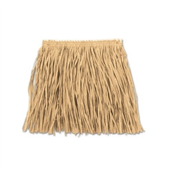 Natural Child Mini Paper Raffia Hula Skirt (1/Pkg)