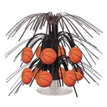 Basketball Mini Cascade Centerpiece