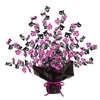 Black and Cerise 16 Gleam 'N Burst Centerpiece