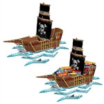 Pirate Ship Centerpiece