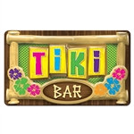 3-D Plastic Tiki Bar Sign