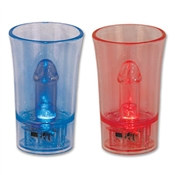 Light-Up Willie Surprise Shot Glass