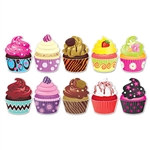 Mini Cupcake Cutouts