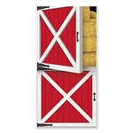Barn Door Door Cover