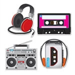 Cassette Player Cutouts