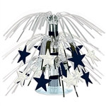 Star Mini Cascade Centerpiece (Black & Silver)