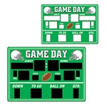 Chalkboard Game Day Scoreboard Cutout