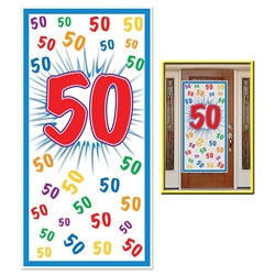 50th Door Cover