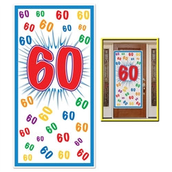 60th Door Cover