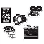 Mini Movie Set Cutouts