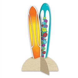 3-D Surfboard Centerpiece
