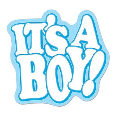 Its A Boy Cake Banner