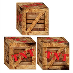 TNT Crate Favor Boxes