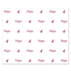 Celebrate Breast Cancer Awareness Month by using our Hope Insta-Mural at an awareness event. This plastic wall decoration measures five feet by six feet and is perfectly suited for both indoor and outdoor use. Comes one plastic wall decoration per package